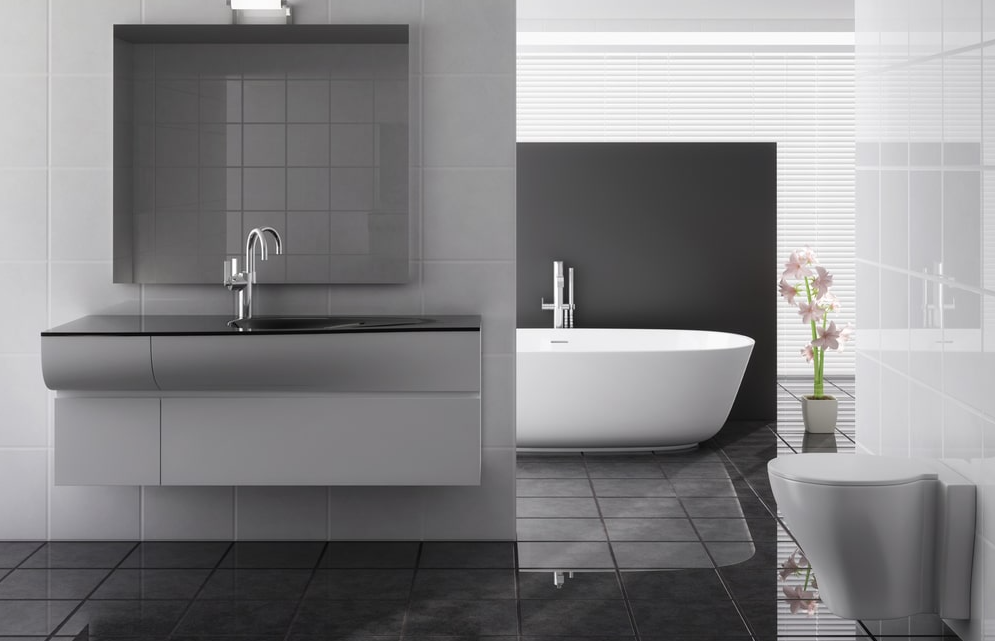 Tiling: How to decorate the walls in the bathroom beside tiles?