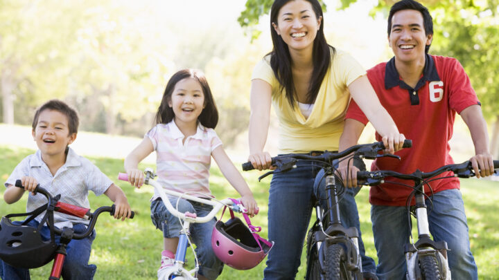 8 reasons why riding a bicycle is better for the body